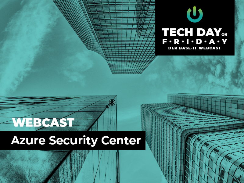 Webcast Microsoft Azure Security Center