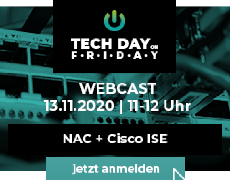 base it webcast tech day on friday Barracuda network access control+Cisco Identity Services Engine