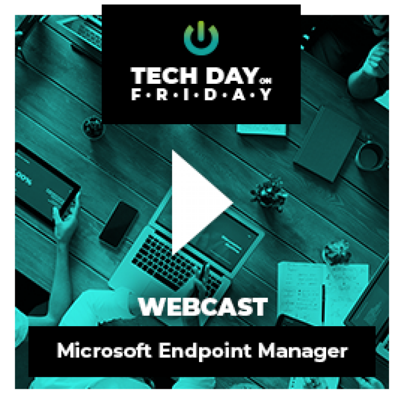 webcast on demand microsoft endpoint manager